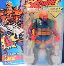 X-MEN *** ERROR!! *** Grizzly in Cable pkg Marvel Comics TOY BIZ Uncanny X-Force