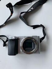 24.2MP A6300 Sony Alpha Fotocamera Digitale-Argento (Solo Corpo)