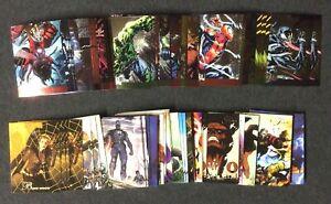 2015 Fleer Marvel Retro 1994 Flair 1995 Metal Design Insert Comic Card Singles