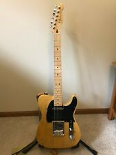 Fender Standard Telecaster MIM Upgraded PUPs and Bridge Plate, Locking Tuners