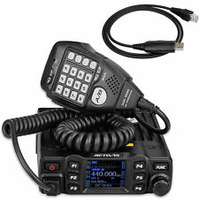 Mobile Ham Radio Retevis RT95 Dual Band Amateur In-Vehicle Transceiver 25W+Cable