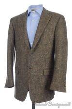 HICKEY FREEMAN Current Brown Donegal Wool Tweed Blazer Sport Coat Jacket - 40 R