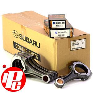 Genuine 79mm Subaru Crankshaft, Con Rod & ACL Race Bearing Kit FITS EJ25 2005 +