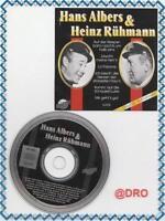 HANS ALBERS + HEINZ RÜHMANN + CD + 13 Kult Schlager +