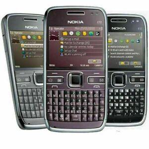 New Nokia E72 5MP Camera 3G WIFI UNLOCKED Metal QWERTY Keyboard Mobile Phone