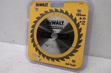 DEWALT Dt1935qz Construction Circular Saw Blade 165x20mm 30t AC