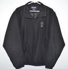 Tres Bien Fort Jackson Golf Wind Rain Jacket Zip-off Sleeves Black Men's M
