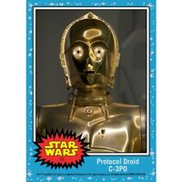 COUNTDOWN TO STAR WARS: THE LAST JEDI - PROTOCOL DROID C-3PO - CARD 10 topps now