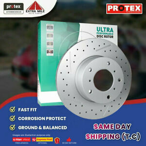 1x Protex Front Ultra Perf Rotor For SUBARU Outback 2.5L & 3.0L H6 10/98 - 06