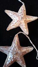 Collectable Unique Seaquin Star Christmas Ornaments