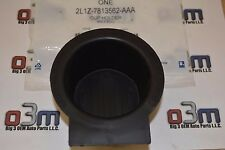 2005-2011 Ford F-150 Floor Console Front Rubber Cup Holder INSERT Liner OEM new