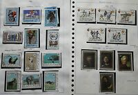 Mauritania 1970s/80s Range of Issues with Sets and Singles to Include Oly Stamps