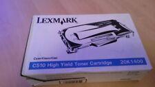 TONER  LEXMARK C510 20K1400 CYAN