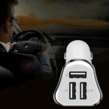 3 PORT IN CAR CHARGER ADAPTER FOR APPLE IPHONE SAMSUNG GALAXY 2.1A, 1A, 1A