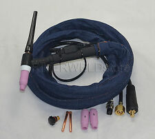 WP-17F 12Foot Air-Cool Tig Welding Torch Complete With Flexible Head