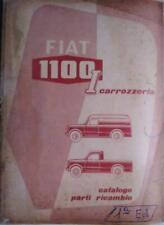 Fiat 1100 I furgone camioncino catalogo ricambi carrozzeria
