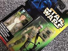 1997 POTF Star Wars LPC Euro/Uk Tri-logo Endor Rebel Soldier Long Picture Card