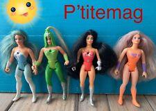 Lot 4 poupées (No MOTU) Mattel 84,85 Princesse du pouvoir / Princess of power