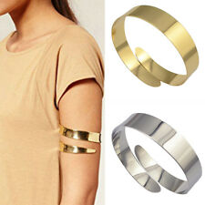 Vintage Women Punk Swirl Upper Arm Cuff Armlet Armband Bangle Bracelet Jewelry