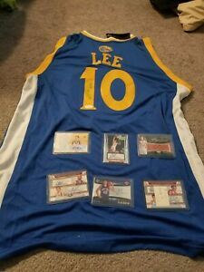 David Lee Autographed Golden State Warriors Adidas Jersey. JSA CERTIFICATE