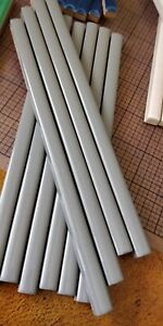 """Gloss Ceramic Pencil Tiles Sizzle Strip - Made Italy - 8"""" x 0.5"""" -Choose Color"""