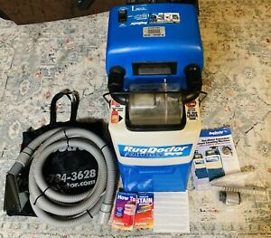 Rug Doctor Mighty Pro Shampooer /Carpet Cleaner W/ Attachments & Spare Parts