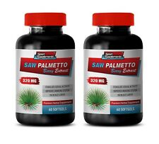 Saw Palmetto Tincture - Saw Palmetto Extract 320mg - Sperm Motility Pills 2B