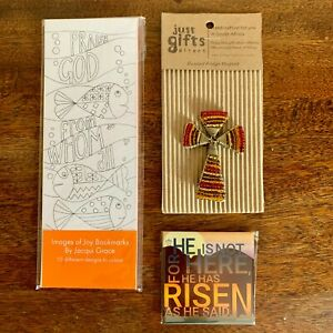 Christian Wrapped Letterbox Gift Set Easter Mothers Day Birthday Religious Cross