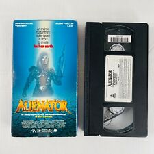 Alienator Vintage Vhs Sci-Fi Movie Jan-Michael Vincent 1990 Prism Entertainment