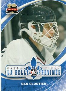 2011/12 ITG Between the Pipes #173 DAN CLOUTIER (Vancouver Canucks)