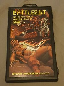 BATTLESUIT Man to Man Combat in the World of OGRE. Steve Jackson Games VGC