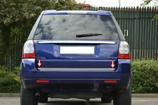 RANGE Rover L322 CROMO Bagagliaio Posteriore Portellone Trim copertina S acciaio 2002-2013