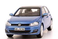 VW VOLKSWAGEN GOLF VII 2012 5 DOORS PACIFIC BLUE METAL HERPA 5G4099300F5A 1/43