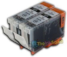 2 Black Ink Cartridge for Canon Pixma iX4000 PGI-5Bk