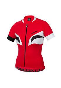 Women's ETXEONDO Aroa TX Short Sleeve CYCLING JERSEY in Red (30223)