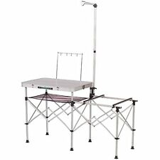 Coleman Portable Folding Camp Table Kitchen Food Prep Cooking Camping Supplies