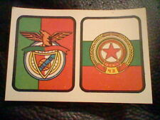 card FOOTBALL ED. ROMERO SPAIN 1975 1976  never used  C S K SOFIA BENFICA
