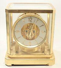 Vintage Swiss Lecoultre Atmos 15 Jewel Shelf Mantel Clock