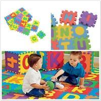 36PCS Soft EVA Foam Baby Kids Alphabet Numerals Blanket Foam Floor Pad Play Mat
