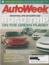 AutoWeek Apr 24, 2006 - E85 Flex Fuel - Audi R10 - Mitsubishi Eclipse GT