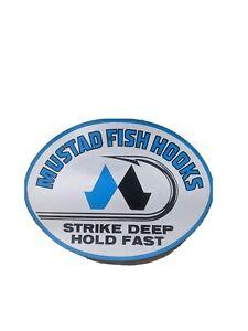 Mustad Fish Hook Sticker