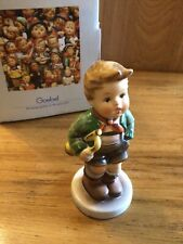 "New ListingGoebel Hummel - ""Trumpet Boy"" - #97 - 4 3/4"" Tmk6 Boy with Trumpet Mint"