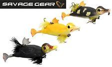 Savage Gear 3D Suicide Duck Wobbler Ente, Oberflächenköder, Hechtköder