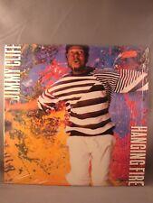 LP JIMMY CLIFF CLIFF HANGING FIRE 1988 USED VINYL ALBUM CBS/COLMB FC 40845 PROMO