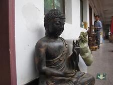Huge Tibet old Bronze Copper Tathagata Sakyamuni Shakyamuni Buddha Statue