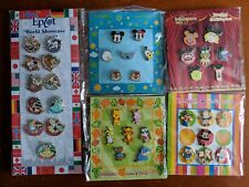 Disney 39 Pin Lot #4, Set of Muppets Epcot Characters