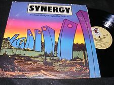 SYNERGY 1975 Larry Fast ELECTRONIC REALIZATIONS For Rock Orchestra LP Moog Elect