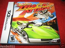 Hot Wheels: Track Attack  (Nintendo DS, 2010) racing cars trucks video game