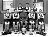"1944 Irish Army Boxing Team Old Vintage Photo 8.5"" x 11"" Reprint"
