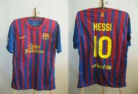Barcelona #10 Messi 2011/2012 home M Nike shirt jersey football soccer maillot